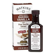 Watkins All Natural Extract, Original Baking Vanilla, 2 Fl Oz (Pack Of 1) (Packaging May Vary)