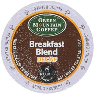 Keurig K-Cup Green Mountain Coffee Breakfast Blend Decaf (18 k-CUPS)