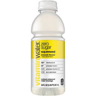 vitaminwater zero squeezed, electrolyte enhanced water w/ vitamins, lemonade drinks, 20 fl oz, 24 Pack