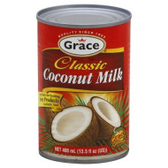 GRACE CARIBBEAN COCONUT MILK, 13.5 OZ