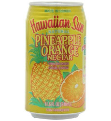Hawaiian Sun Nectar, Pineapple-Orange, 11.5-Ounce (Pack of 24)