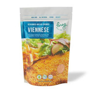 Pereg Bread Crumbs Viennese (12 Oz) - Crispy Crunchy Breadcrumbs for Coating & Stuffing - Coat Schnitzel, Vegetables, Fish, Meatballs - Kosher Certified - Resealable Packaging