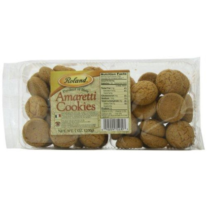 Roland Foods Amaretti Cookies, 7 Ounce (Pack of 5)
