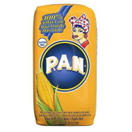 P.A.N. Yellow Corn Meal - Pre-Cooked Gluten Free And Kosher Flour For Arepas, 1 Kg (35 Oz / 2 Lb 3.3 Oz)
