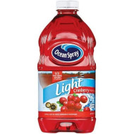 Ocean Spray Light Cranberry Juice, 64-Ounce (Pack Of 8)