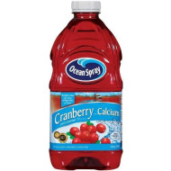 Ocean Spray Cranberry Juice With Calcium, 64-Ounce (Pack Of 8)