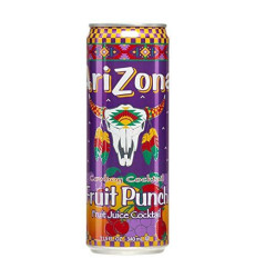 Arizona Fruit Punch, 23-Ounce (Pack Of 24)