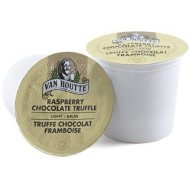 Van Houtte Raspberry Chocolate Truffle Keurig K-Cups, 18 Count, 6.35 Oz (180G)