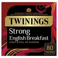 Twinings 1706 Strong Breakfast , Strong Traditional Uk, 80 Tea Bags