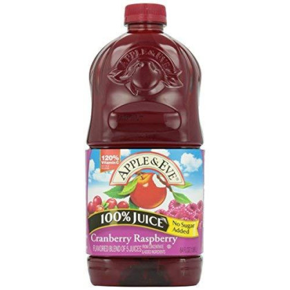 Apple & Eve 100% Juice Cranberry Raspberry, 64 Oz