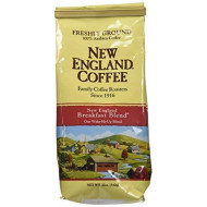 New England Ground Coffee, Breakfast Blend, 12Oz Bag (Pack Of 3)