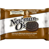 Newman'S Own Newman-O'S, Chocolate Creme Filled Chocolate Cookies, 13-Ounce Packages (Pack Of 6)