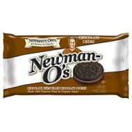 Newman'S Own Newman-O'S Sandwich Cremes, Chocolate, 8-Oz. (Pack Of 6)
