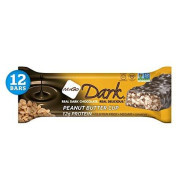 Nugo Dark Chocolate Peanut Butter Cup, 12G Vegan Protein, 200 Calories, Gluten Free, 12 Count
