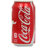 12 Pack 12 Ounce Cans Of Coca Cola