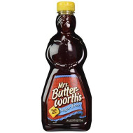 Mrs. Butterworth's Sugar Free Syrup, 24-Ounce (Pack of 4)