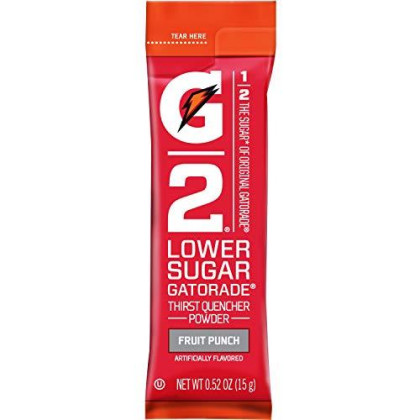 Gatorade G2 Thirst Quencher, Low Sugar, Fruit Punch,  Single Jar (Pack Of 8 )
