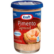 Kraft Cheese Spread, Pimento, 5-Ounce (Pack Of 6)