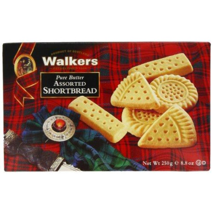 Walkers Classic Shortbread Assorted Selection - 8.8 Oz