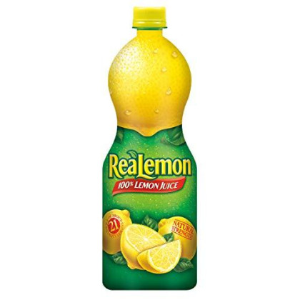 Realemon 100% Lemon Juice, 32 oz