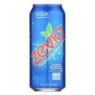 Zevia All Natural Cola Soda, 16 Ounce - 12 Per Case.