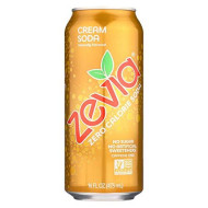 Zevia All Natural Cream Soda, 16 Ounce - 12 Per Case.