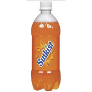 Sunkist Orange Soda, 20.0 Oz. Bottle (24 Count)