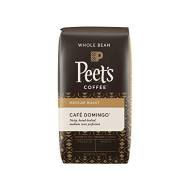 Peet's Coffee Cafe Domingo Blend, Whole Bean (Medium), 12 oz