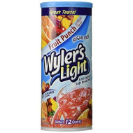 Wyler'S Light Soft Drink Mix, Fruit Punch, 2.01-Ounce (Pack Of 6)