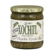 Xochitl Asada Verde Salsa - Medium - All Natural & No Artificial Preservatives - 15 Oz (6 Pack)