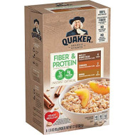 Quaker Instant Oatmeal Weight Control, Variety Pack, Breakfast Cereal, 8 Packets Per Box,12.6 Ounce (Pack of 4)