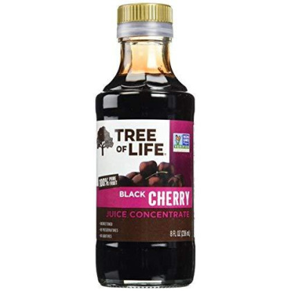 Life Tree Juice Concentrate, Unsweetened Black Cherry, 8 Ounce