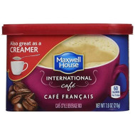 Maxwell House International Cafe Francais Cafe, 7.6 Oz Tub (Pack Of 8)