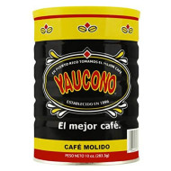 Yaucono Ground Coffee Canister, 10 Ounce (Pack of 1)