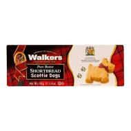 Walkers Shortbread Shortbread Scottie Dogs, Traditional Pure Butter Shortbread Cookies, 3.9 Ounce (6 Count)