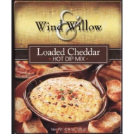 Wind And Willow Loaded Cheddar Hot Dip Mix - 0.9 Ounce (4 Pack)