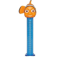 NEMO PEZ CANDY AND DISPENSERS WITH 3 PEZ REFILL PACKS SEALED ON BLISTER CARD