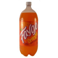 Faygo Orange! Dee-licious Naturally Flavored Soda Pop 2 Liter Bottle