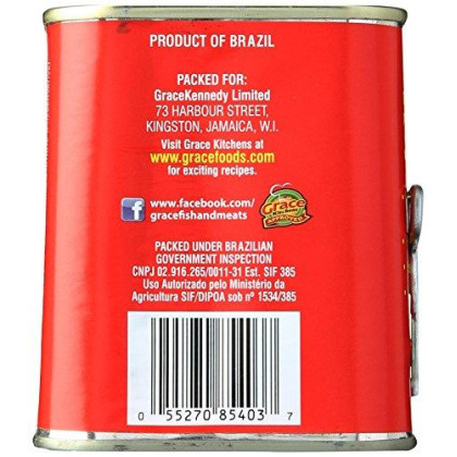 Grace Caribbean Corned Beef Can, 12 Oz
