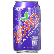 Zevia Zero Calorie Soda - Grape - 12 Oz - 6 Pk