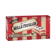 Vachon Mille Feuilles 1 Box Of 6 Flaky Pastries Snack Cakes 10 Ounces Made In Quebec