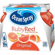 Ocean Spray Ruby Grapefruit Juice Drink, 10 Ounce (Pack Of 6)