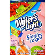 Wyler'S Light Singles-To-Go Sugar Free Drink Mix, Cherry Limeade, 8 Ct Per Box (Pack Of 1)