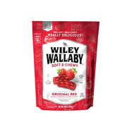Wiley Wallaby Australian Style Gourmet Licorice, Red Licorice, 10 Ounce Bag
