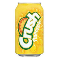 Crush Pineapple Soda 12oz Cans (Pack of 12)