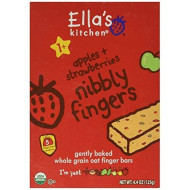 Ella'S Kitchen Strawberries And Apples Nibbly Fingers, 4.4 Oz