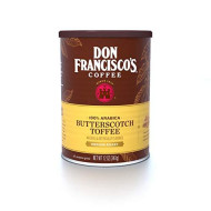 Don Francisco's Ground Butterscotch Flavored Coffee, 12 oz