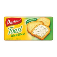 Bauducco Whole Wheat Toast - 5.64 Oz | Torrada Integral Bauducco - 160G - (Pack Of 04)