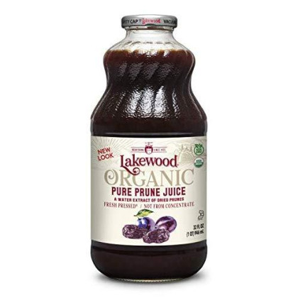 Lakewood Organic Pure Prune, 32 Ounce (Pack Of 6)