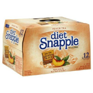 Snapple Peach Tea Diet 16 Oz- 12 Pack